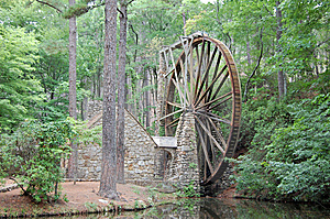 Old Grist Mill Stock Images - Image: 6418504