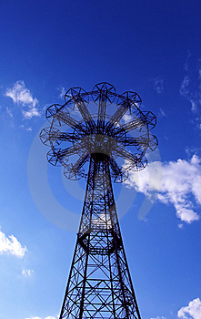 Coney Island Landscape Stock Photography - Image: 6420152