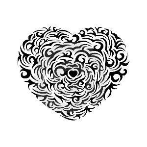 Love Shape Stock Image - Image: 6420591