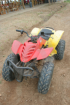 Quad Bike Vehicle Stock Image - Image: 6422161