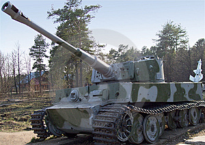 Tiger Tank Royalty Free Stock Images - Image: 6427439