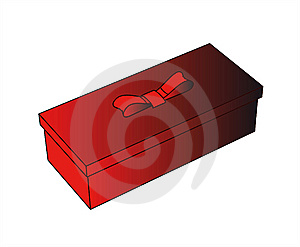 Little Red Gift Box Stock Images - Image: 6427684