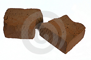 Brocken Red Brick Stock Photography - Image: 6432312