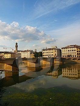 Landscape Of Arno River Stock Image - Image: 6433801
