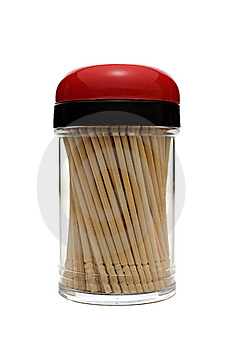Toothpicks Stock Image - Image: 6434531