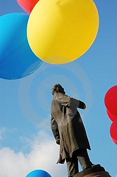 Statue Of Lenin Royalty Free Stock Photography - Image: 6435557