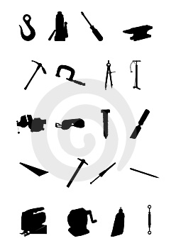 Bulding And Hand Tools Royalty Free Stock Photography - Image: 6438327