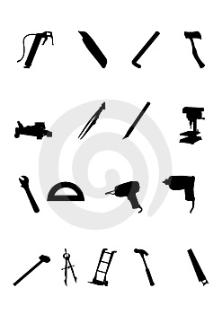 Bulding And Hand Tools Royalty Free Stock Photos - Image: 6438468