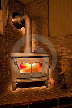 Cozy Fire Place Stock Images - Image: 6439274