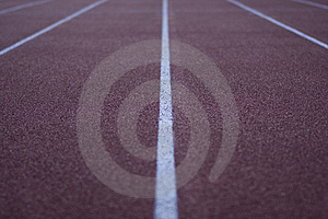 Athletic Stadium Running Track Stock Photo - Image: 6439470
