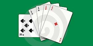Poker Cards Royalty Free Stock Photos - Image: 6440678