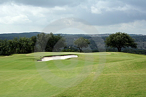 Golf Hole Royalty Free Stock Image - Image: 6442586