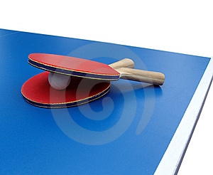Table Tennis Royalty Free Stock Image - Image: 6443426