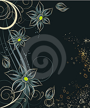 Floral Background Royalty Free Stock Images - Image: 6445009