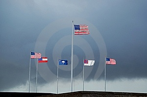 Storm At Fort Sumter Royalty Free Stock Photo - Image: 6446115