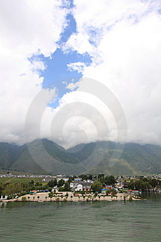 Erhai Lake Stock Photo - Image: 6447200