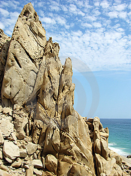 Rocks In Mexico Stock Photo - Image: 6447410