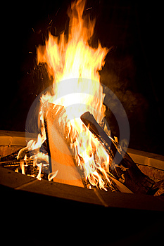 Bonfire Royalty Free Stock Photos - Image: 6449498