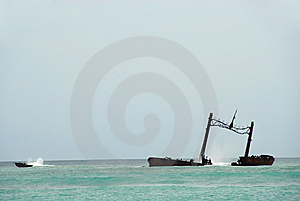 Wreck Royalty Free Stock Images - Image: 6450519