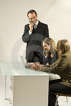 People In Business Meeting Royalty Free Stock Photos - Image: 6450568