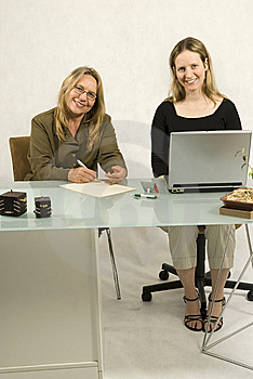 People in Business Meeting Stock Image