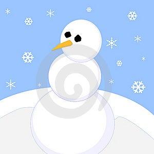 Snowman Stock Photos - Image: 6451893