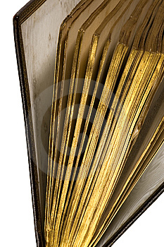 Antique Book With Golden Pages Royalty Free Stock Photography - Image: 6454157
