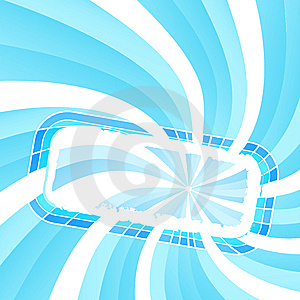 Spiral Light Frame Royalty Free Stock Photography - Image: 6454797