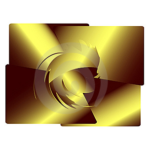 Gold Design Element Royalty Free Stock Image - Image: 6455766