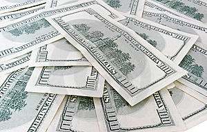 100 Us Dollars Banknotes Stock Photography - Image: 6457952