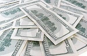 100 US-Dollars Banknoten Stockfotografie - Bild: 6457952