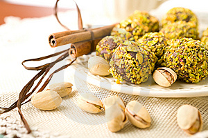 Handmade Chocolates Royalty Free Stock Photography - Image: 6458497