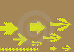 Moving Arrow Background Royalty Free Stock Photos - Image: 6460838