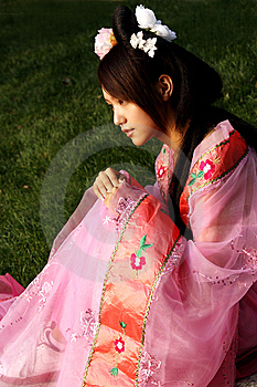 Classical Beauty In China. Royalty Free Stock Image - Image: 6462716