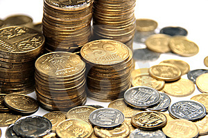 Ukrainian Coins Royalty Free Stock Photo - Image: 6463195