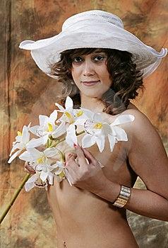 Girl In Studio Royalty Free Stock Photos - Image: 6463348