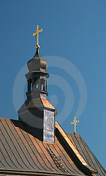 Dome Of Orthodox Church Royalty Free Stock Image - Image: 6464216