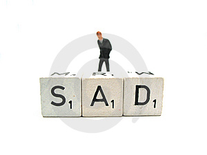 Sad Royalty Free Stock Photo - Image: 6465105