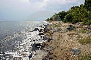Rainy Day In Psakoudia Royalty Free Stock Photos - Image: 6467538