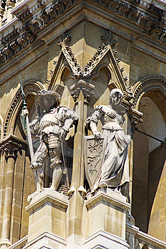 Architectural Detail Of The Vienna City Hall Stock Photos - Image: 6467643