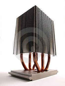 Prospettiva Del Dissipatore Di Calore Del CPU Fotografia Stock Libera da Diritti - Immagine: 6468495