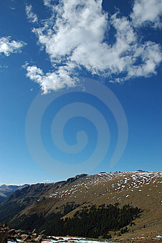 Tundra View Of Rocky Mountain And Blue Sky Royalty Free Stock Photo - Image: 6469115