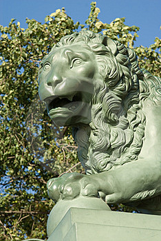 Head Of A Stone Lion Royalty Free Stock Photo - Image: 6469495