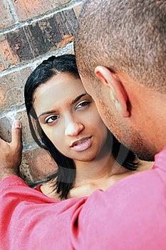 Woman Looking At Man Royalty Free Stock Photography - Image: 6471207