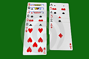 A Set Of Cards Royalty Free Stock Images - Image: 6473949