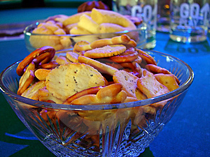 Salt Snacks Royalty Free Stock Photos - Image: 6474758