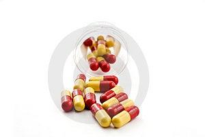 χάπια μπουκαλιών Στοκ Φωτογραφία - εικόνα: 6476352