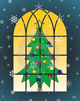 Christmas Tree Royalty Free Stock Photos - Image: 6476488