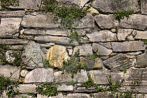 Stone Wall Royalty Free Stock Photos - Image: 6478128