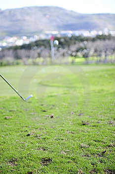 Golfeur Dans L'action Photos stock - Image: 6478223